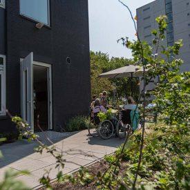 Hospice IJsselPolder Rotterdam tuin